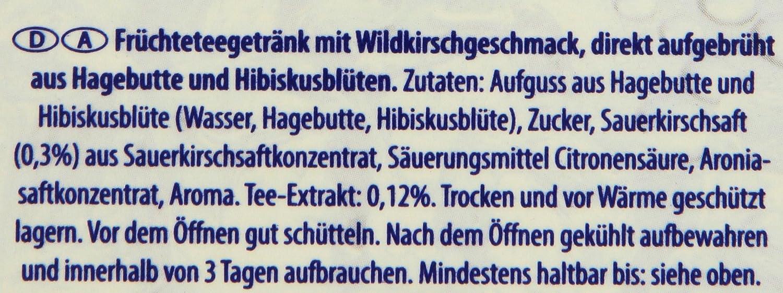 Pfanner Eistee Wildkirsche, 6 x 2 l Packung: Amazon.de: Lebensmittel ...