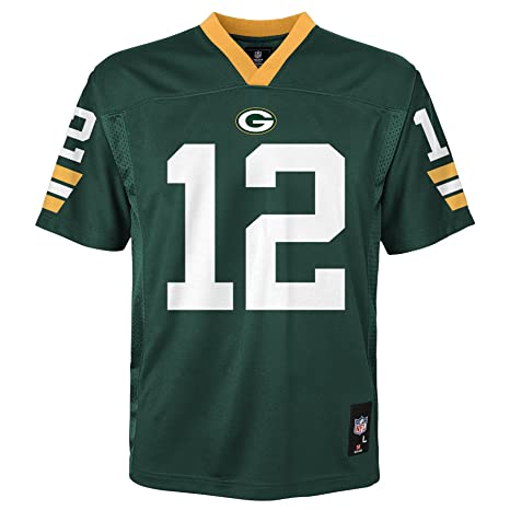 388dfcf1d Image Unavailable. Image not available for. Color  NFL Youth Boys 8-20 Aaron  Rodgers Green Bay ...