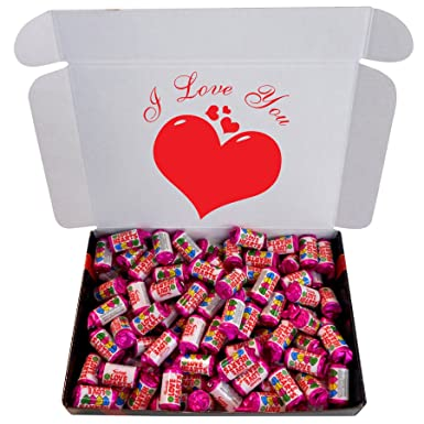The Little Sweet Shop I Love You Mini Love Hearts Sweets Mighty