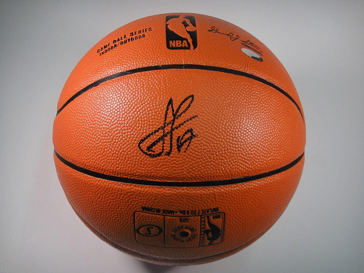 0e54fd6b7 Signed Jeremy Lin Basketball - Authentic  17 Spalding Official Game -  Steiner Sports Certified - Autographed Basketballs at Amazon s Sports  Collectibles ...
