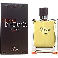 Hermes Terre D'Hermes Eau Intense Vetiver Eau De Parfum for Men 6.7 oz/ 200 ml - Spray, 199 ml (I0100587)