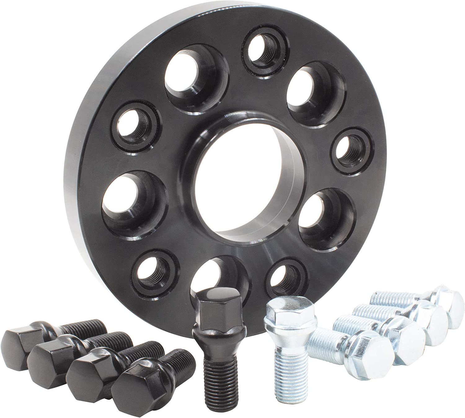 BLACK 5x130 30mm Hubcentric Wheels Spacers to fit Porsche Boxster