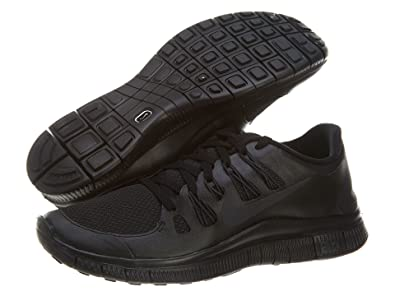 e2b73a9028ca8 Nike Men s Free 5.0+ Running Shoe Black Anthracite 9 D(M) US  Buy Online at  Low Prices in India - Amazon.in