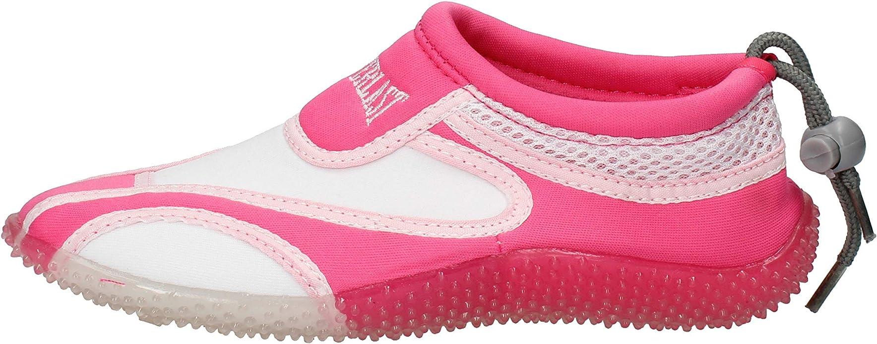EVERLAST Sneakers Niñas Textil Blanco: Amazon.es: Zapatos y complementos