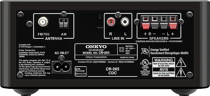 Amazon.com: Onkyo CS-265 CD Hi-Fi Mini sistema con Bluetooth ...