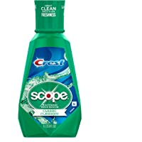 Crest Plus Scope Classic Mouthwash Original Formula Mint 33.8 oz