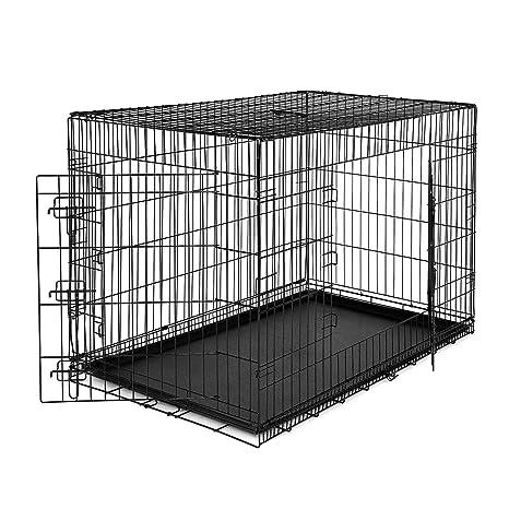 dibea DC00494, jaula de transporte para perros y animales pequeños ...