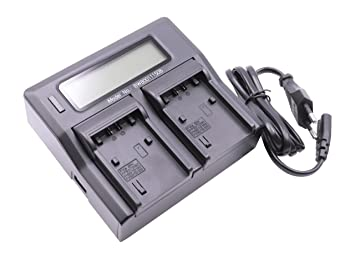 Cargador USB Dual vhbw 220V para Sony Batería FDR-AX100E ...