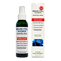#1 Brain Health Booster - Improves Focus and Memory - Brain Cell Worx (Sublingual...