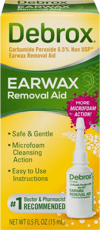 Debrox Earwax Removal Drops Earwax, 0.5oz
