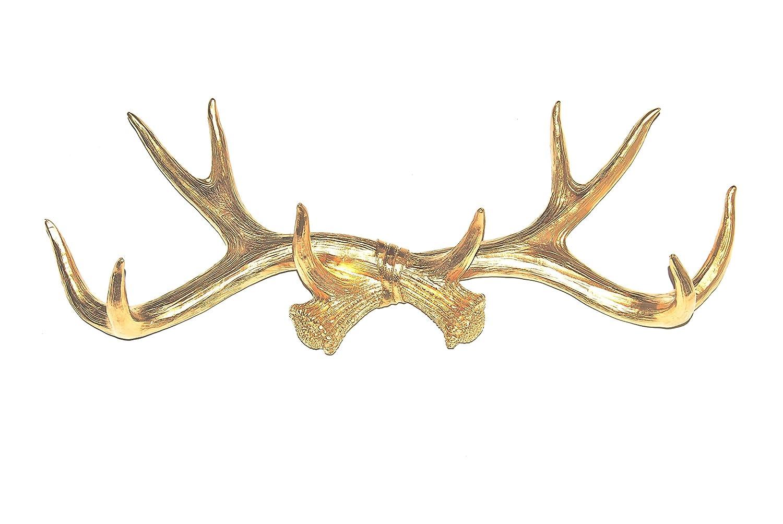 Near and Deer Faux Antler Rack Wall Hook and Jewelry Organizer Aqua AH61