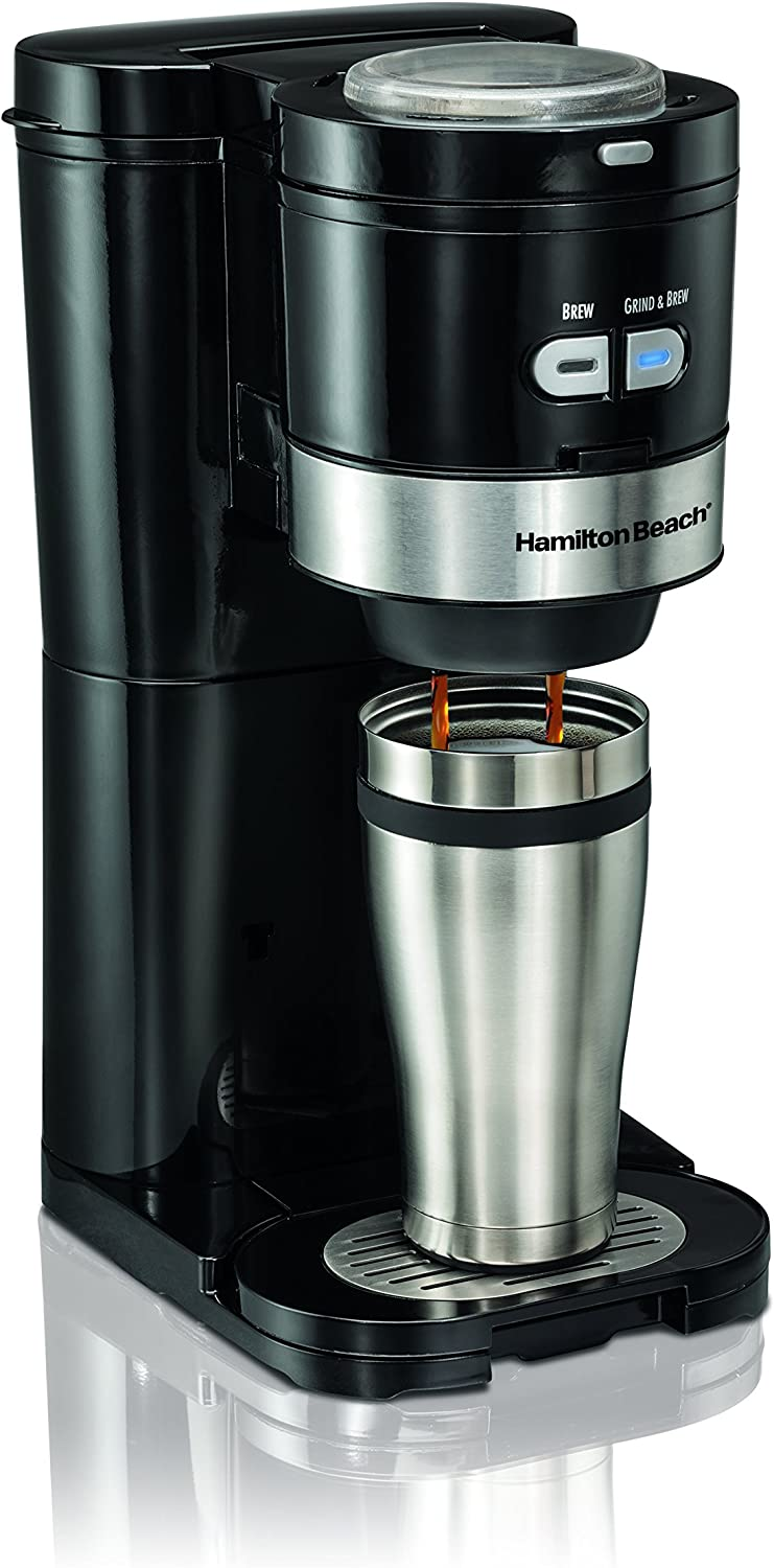 Best Single Cup Coffee Maker With Grinder - Hamilton Beach Coffee Maker