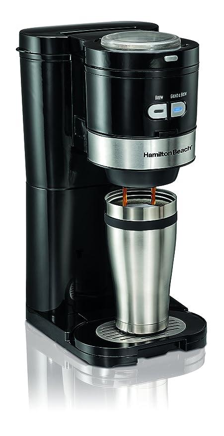 Amazon Hamilton Beach Coffee Maker Grind and Brew Single Serve