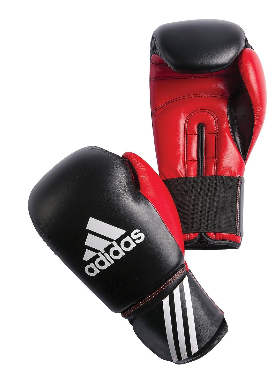 adidas Boxhandschuhe Response 3C - Guantes de boxeo para combate, Blanco/Azul/Rojo, 10 oz ADIBT01-BRW-10