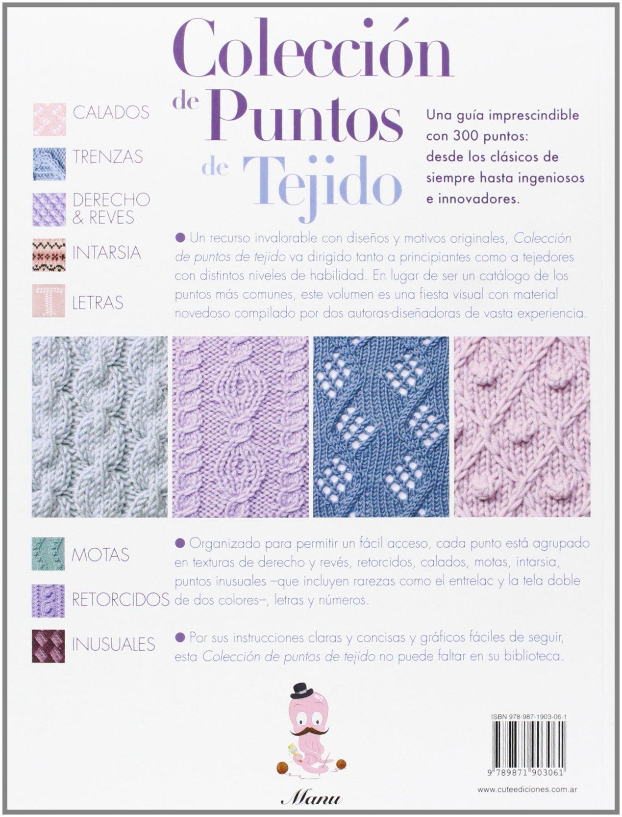 Colección de puntos de tejido (Spanish Edition): Melody Griffiths ...