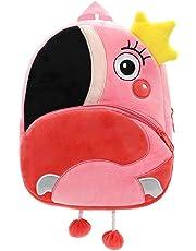 Sac à Dos Enfant Garderie Maternelle Sac Creche Cadeau d'anniversaire pour bébé Sac Animaux École Cartoon Mignon pour bébé Fille garçon 1-3 Ans