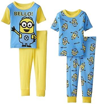 148db352959d Amazon.com  Despicable Me Little Boys  Team Minions Four-Piece ...