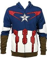Captain America Suit Up Fleece Hoody