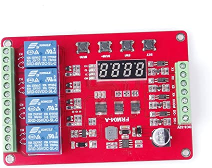 Timer Relay Board 0-10 Sec 12V Switches upto 240V AC UK Seller