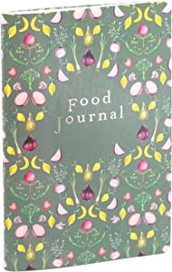Boxclever Press Food Journal for a Healthier Lifestyle. Food Diary and Food Journal Log Book. Portable Daily Planner to Use with Weight Watchers, Diets or Personal Training Plans. (Vegetable Garden)