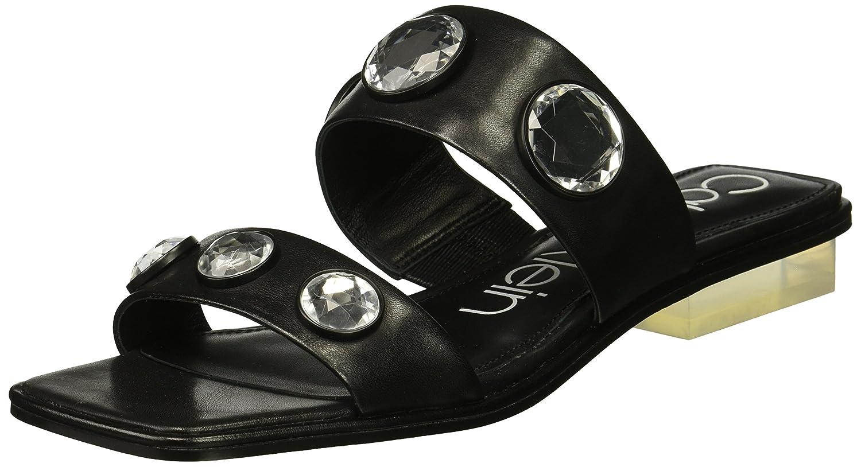 Calvin Klein Women's Kace Slide Sandal B07822W4XH 9 B(M) US|Black
