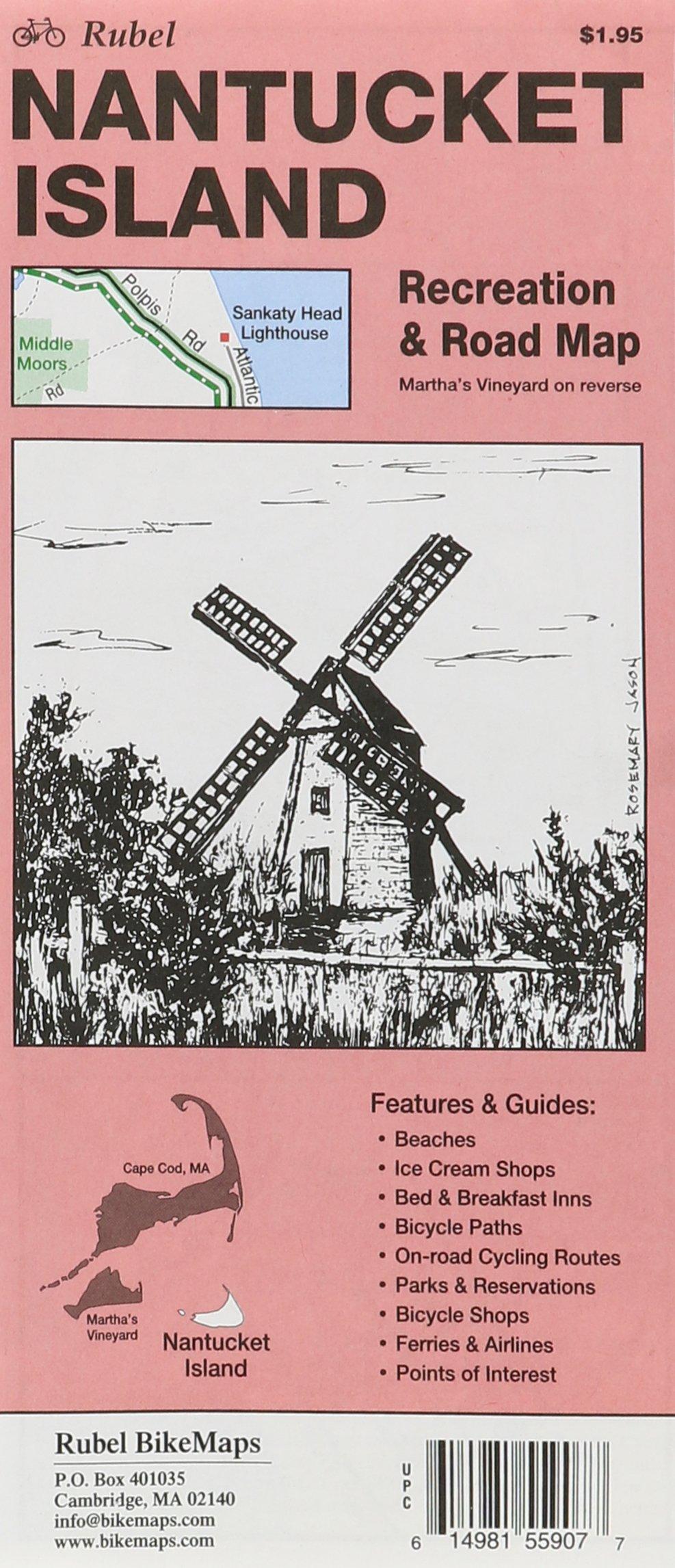 Martha's Vineyard & Nantucket Bike Routes