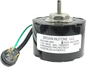 NuTone 23405ser Ventilation Fan Motor