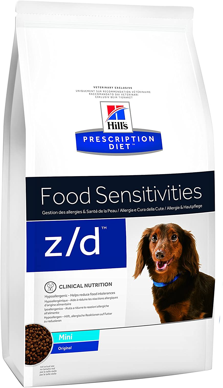 Hill`s Alimento Dietético para Perros Z/D Mini - 2 Paquetes de 1500 gr - Totale: 3000 gr