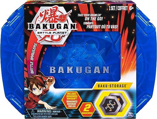 Bakugan Caja almacenamiento Storage Case (BIZAK 61924430): Amazon ...