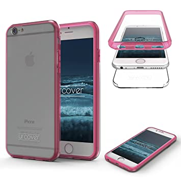 Urcover Apple iPhone 6 Plus / 6s Plus Funda [Nueva Versión ] Mejorada Funda Carcasa Apple iPhone 6 Plus / 6s Plus [Completa 360 Grados ] TPU Rosado ...