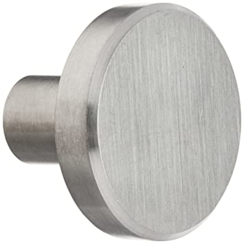 Charmant Laurey 89301 Cabinet Hardware Stainless Steel Knob, 1 1/2 Inch   Cabinet  And Furniture Knobs   Amazon.com