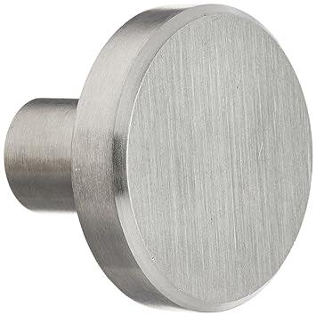 Laurey 89301 Cabinet Hardware Stainless Steel Knob, 1 1/2 Inch