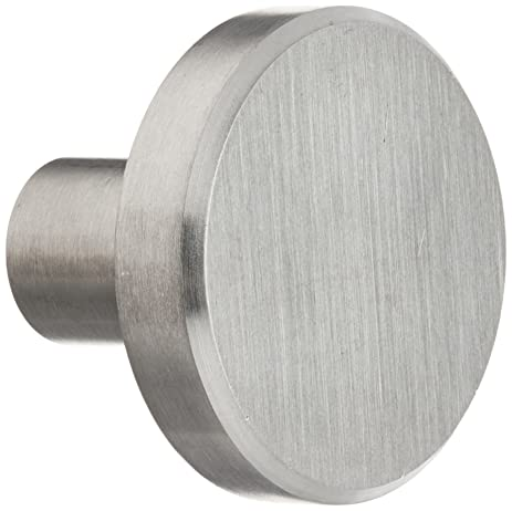 Laurey 89301 Cabinet Hardware Stainless Steel Knob, 1-1/2-Inch ...