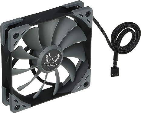 SCYTHE SU1225FD12M-RHP Carcasa del Ordenador Ventilador - Ventilador de PC (Carcasa del Ordenador, Ventilador, 12 cm, 300 RPM, 1200 RPM, 14,5 dB): Amazon.es: Informática