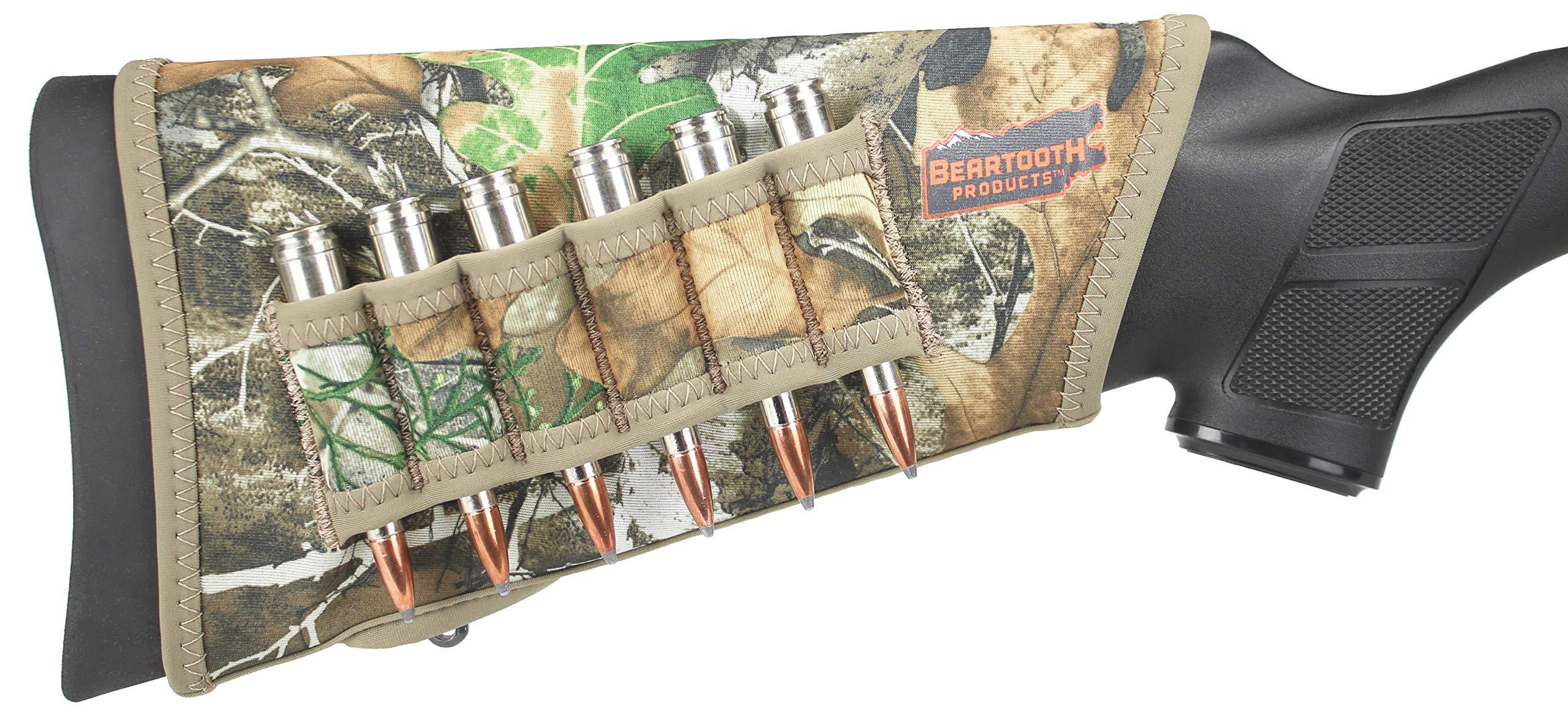 Beartooth StockGuard 2.0 - Premium Neoprene Gun Stock Cover - Rifle Model (Realtree Edge) by Beartooth Products