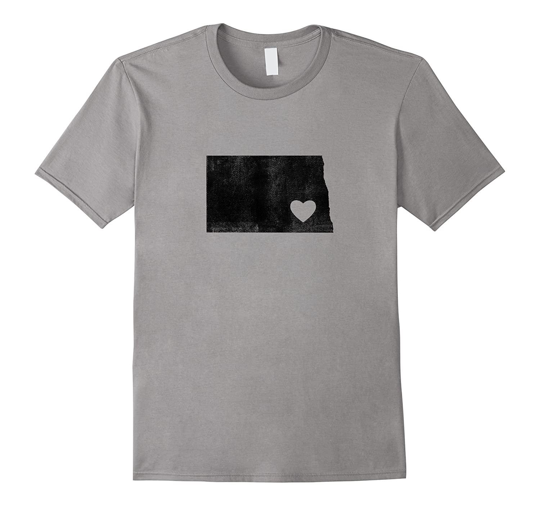 I Love North Dakota Shirt-CL