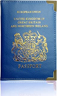 WhizzTec, Protège-passeport  bleu bleu
