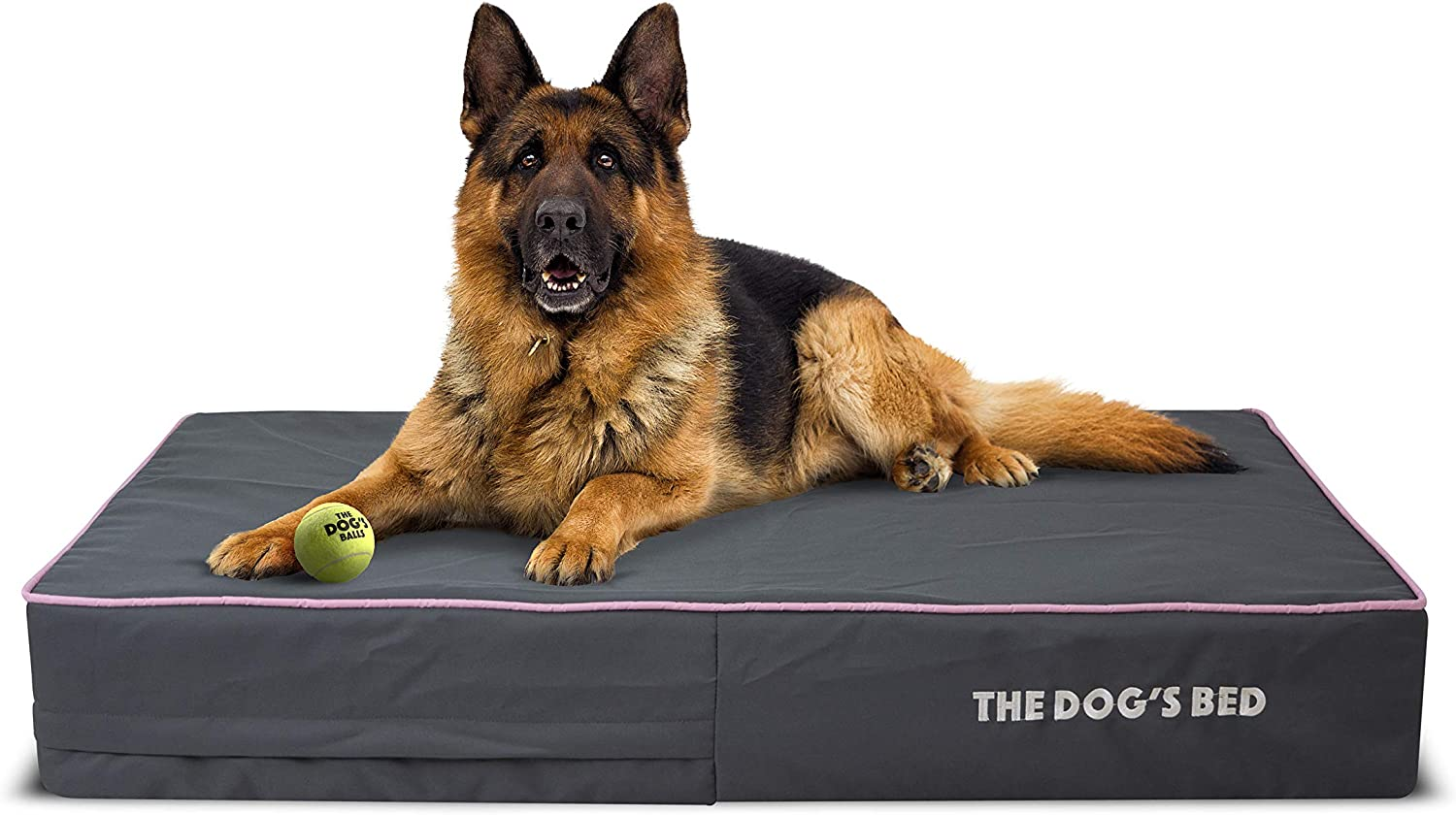 OUTER COVER ONLY - NO BED, NO WATERPROOF INNER For The Dogs Bed, Washable Quality Plush Fabric, Medium 86 x 56 x 10cm Brown Plush Replacement Outer Cover ONLY