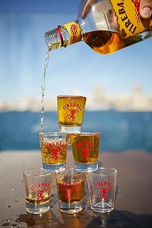 Fireball Licor de Whisky infusionado con canela 33%, 700 ml