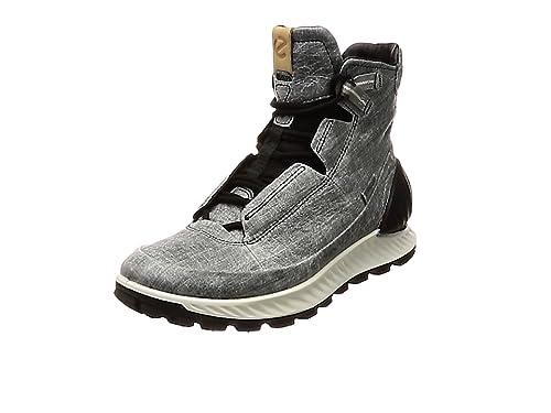 ECCO Mens Exostrike High Rise Hiking Shoes