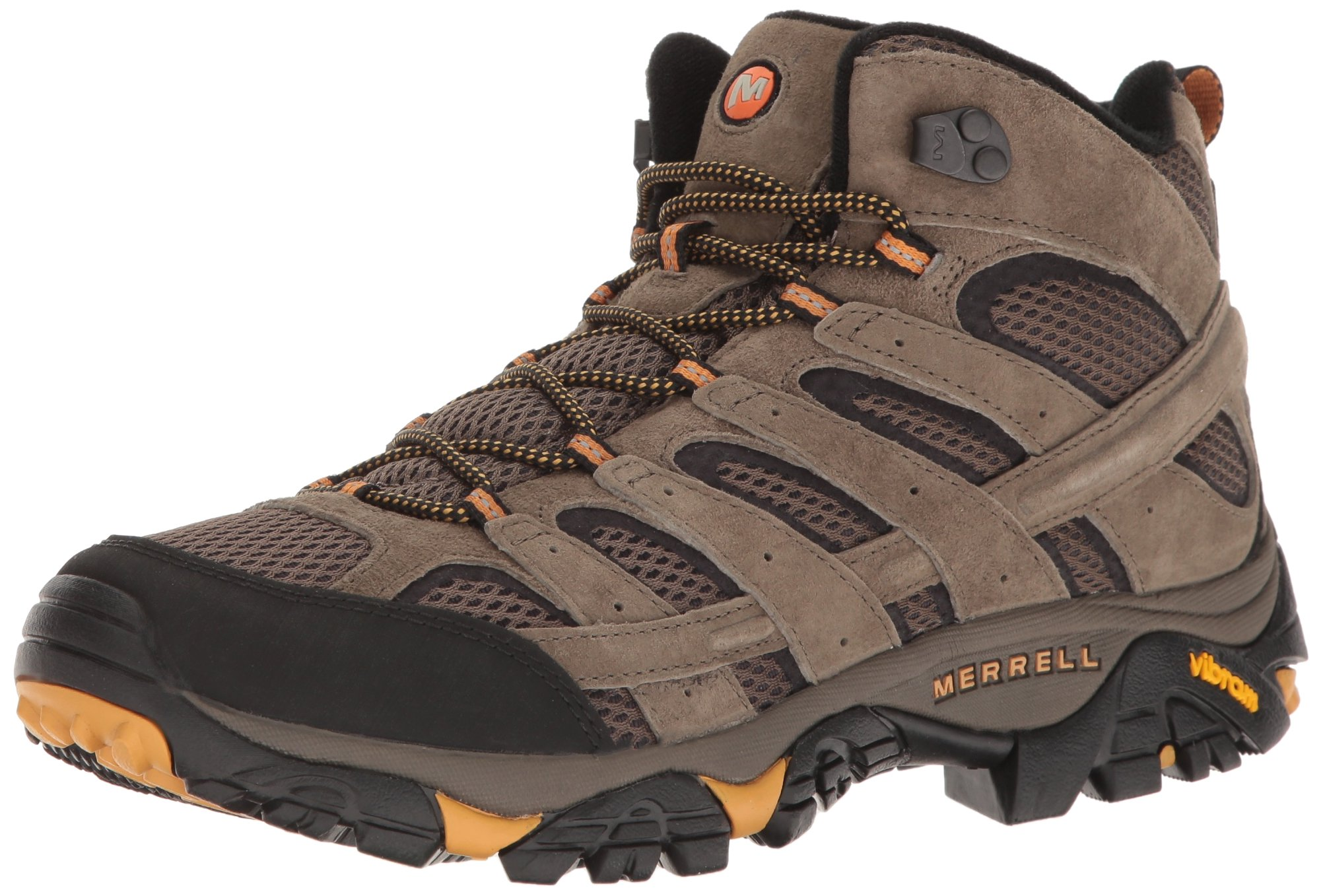 Merrell Men's Moab 2 Vent Mid Hiking Boot, Walnut, 10.5 M US by Merrell
