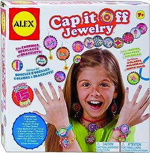 ALEX Toys Do-it-Yourself Wear Cap It Off Jewelry