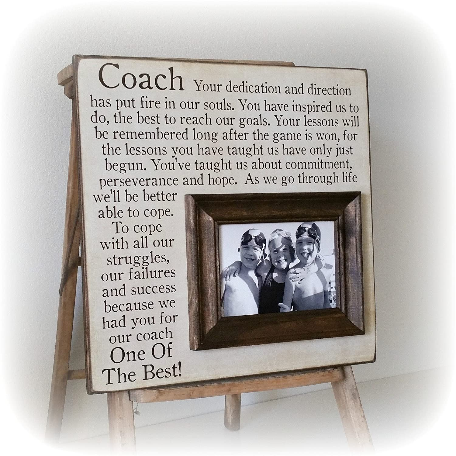 Amazon end of the season coach gift personalized gift for amazon end of the season coach gift personalized gift for coach coach frame 16x16 the sugared plums frames handmade jeuxipadfo Gallery