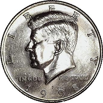 BU Brilliant Uncirculated 1986-P Kennedy Clad Half Dollar
