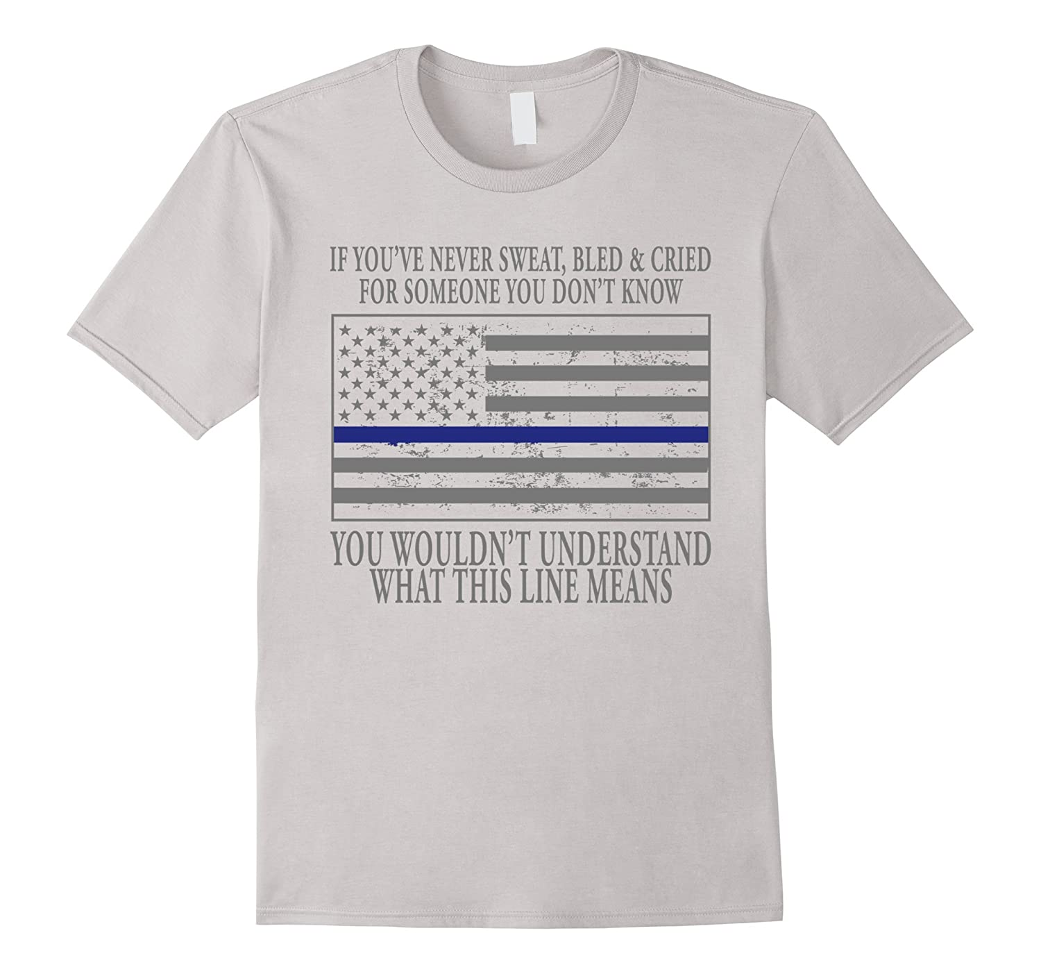 Police Academy Graduation Gifts Police Blue Line Police Gift-CL