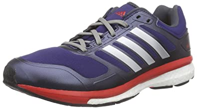 873394cca3ffa adidas Performance Men s Supernova Glide Boost Climahea Running Shoes Blue  Size  UK 9
