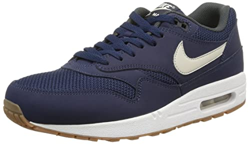 new product d283a e66a5 ... order nike mens air max 1 essential blue white 537383 401 blue white  06982 86f09