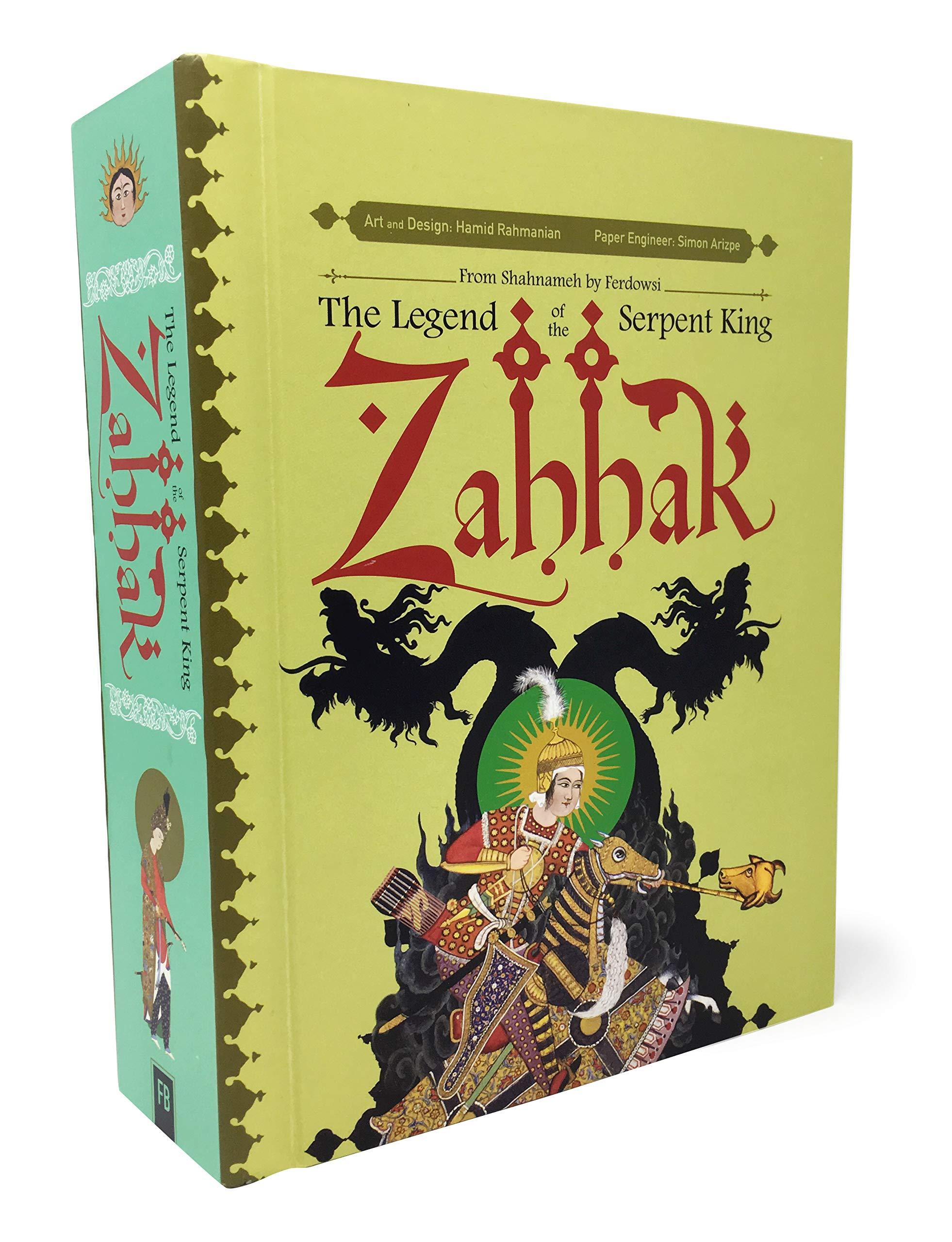 Zahhak The Legend The Serpent King Amazon Hamid Rahmanian