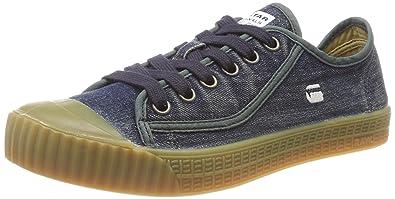 G-Star RAW Rovulc Roel Wash Low, Zapatillas para Hombre, Azul (Dk Navy 881), 45 EU: Amazon.es: Zapatos y complementos