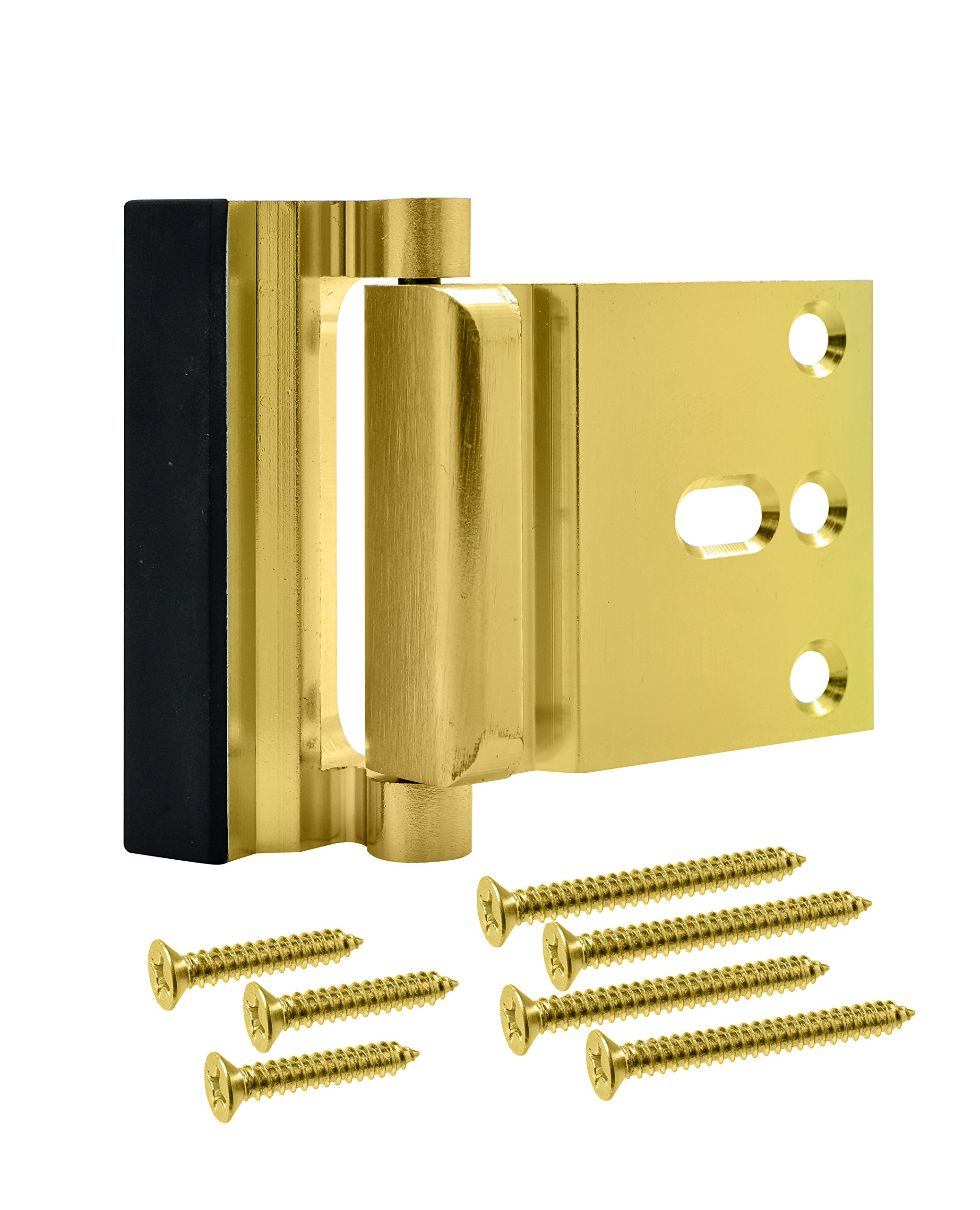 Lamosh Door Reinforcement Lock – For extra safety to your home and prevent unauthorized entry. (Brass)